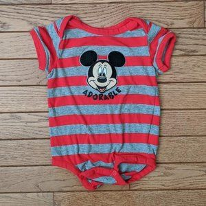 Walt Disney World Parks Onesie Mickey Mouse
